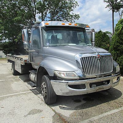 2010 International Flatbed Tow Tk Fully Loaded Chevron Self Loader