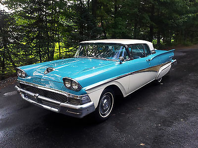 1958 Ford Fairlane 500 TWO 1958 Ford Fairlane 500 retractable (s) With NOS FoMoCo Parts and used parts