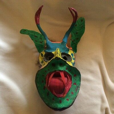 Cora Indians Mexican Mask-devil-like creature