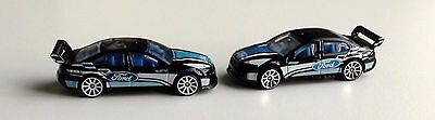 Hot Wheels Ford Fg Falcon Black Race Cars - 2 Variations Scale 1/64 Diecast New