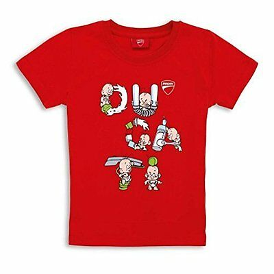DUCATI T-SHIRT KIDS BABY LETTERS SS14 Small #987689800