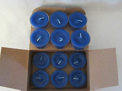 Partylite Ocean Mist Tealight Candles NIB (12 tealights)