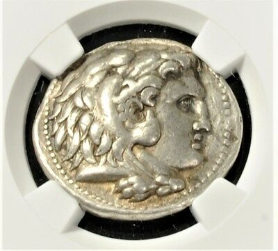 Aphrodite - NGC Ancient Greek Silver Alexander III the Great Tetradrachm