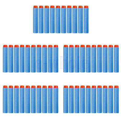 20/50 Soft Gun Refill Bullets Darts For NERF N-Strike Series Solid Hard Head DT