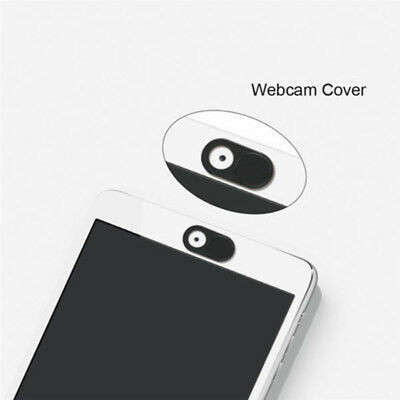 Round Black Webcam Camera Protector Cover Shield For PC Laptop Tablet Smartphone