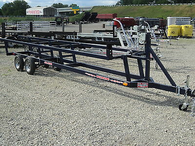 24' Crank Up Pontoon Trailer Tandem Axle *limited Quantities* Save @ Dr Trailer