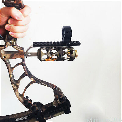 Compound bow Barrel Mount Holder for sight & Flashlight Torch Night Hunter to16