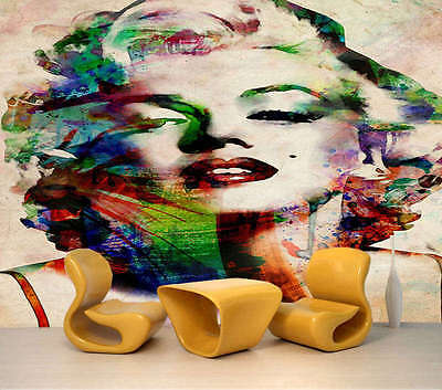 Audrey Hepburn 3D Full Wall Mural Photo Wallpaper Printing Home Kids Decoration