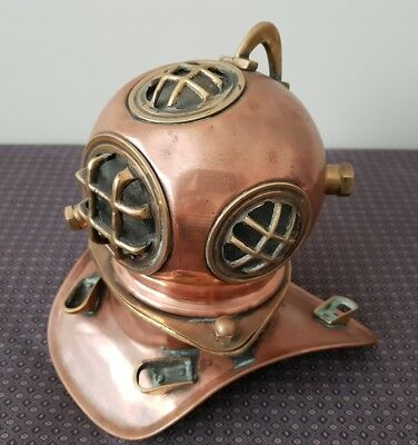 copper/brass divers mask