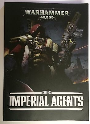 Warhammer 40k. Imperial Agents Codex. 7th Edition. Oop. Soft Back.