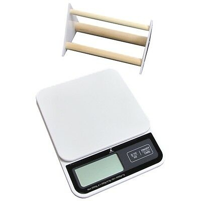 Deluxe Digital Small Animal And Aviary Scale With Perch, White