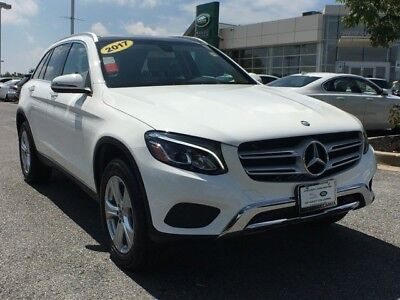 2017 Mercedes-Benz GLC GLC 300 2017 Mercedes-Benz GLC GLC 300 6562 Miles white SUV 2.0L 4-Cyl Engine Automatic