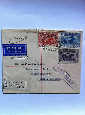 Aust. FDC 19/3/31 Kingsford Smith Flights