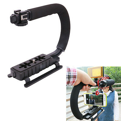 U-Grip Triple Video Action Stabilizing Handle Grip Rig for Camera Gopro Phone