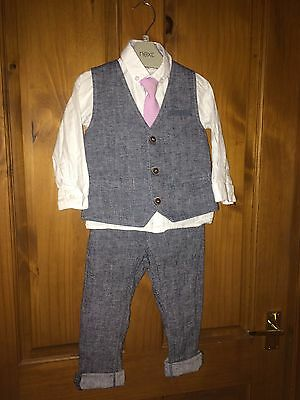 Boys Next 3 Piece Suit, Age 1.5-2 Years
