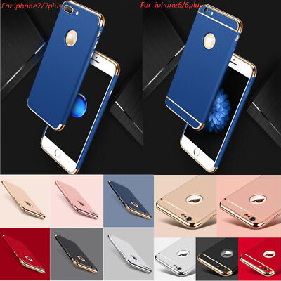 For iPhone 7 Plus 6 6s Apple Case  LUXURY Hybrid Shockproof Ultra thin Hard Back