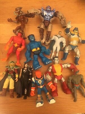 Action Figures Marvel Fantastic 4 X-Men Toy Biz Bundle Of 11