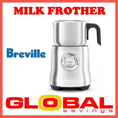 Breville Milk Cafe Frother (Milk, Chocolate & Iced Coffee) Maker Bmf600 P'up Av
