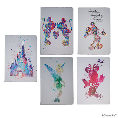 Disney PU Leather Case for Apple iPad 2 3 4 Mini Mini 4 Air Air 2 Smart Cover