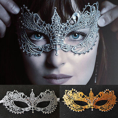 Fifty Shades Darker Diamante Halloween Lace Eye Mask Masquerade Dance Costume