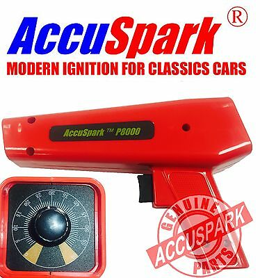 AccuSpark P8000 ROJO CON analógico ADVANCE Control