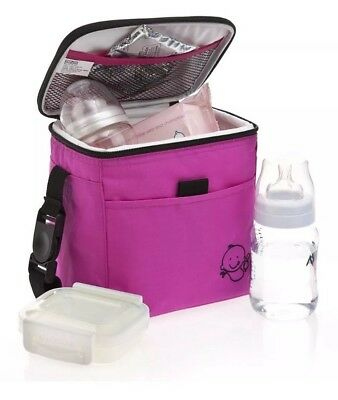 13Y. Polar Gear Little Ones Lunch Bag New Hot Pink
