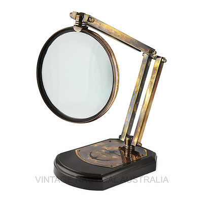 Magnifying Glass - Watts & Sons LTD -VINTAGE NAUTICAL AUSTRALIA