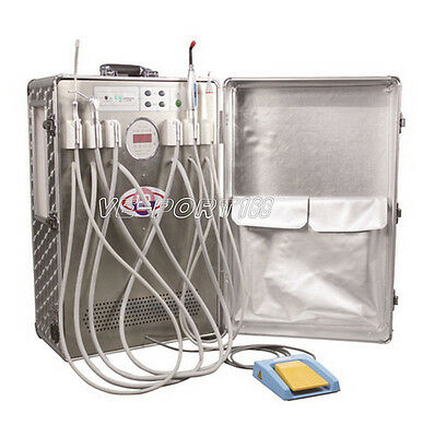 New Best-unit BD-802 Portable Mobile Dental Unit with Scaler and Curing Light VE