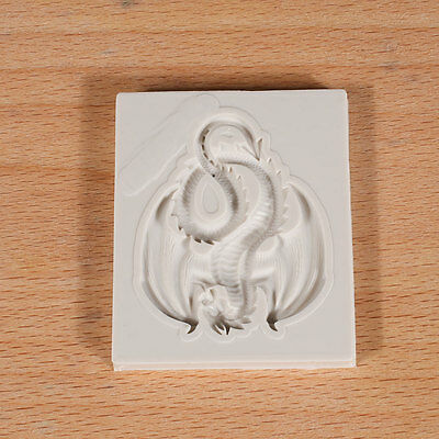 Dragon Silicone Mould Cake Moulds Chocolate Decor Sugarcraft Gum paste Kitchen