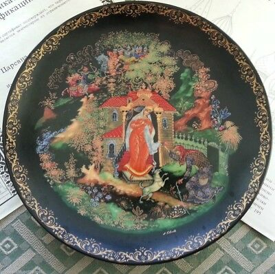 Wall Decor Russian tales - Dead Princess and the Seven Knights - plate of Vinogr