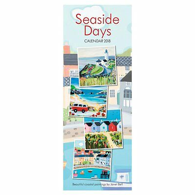 2018 Calendar Seaside Days Tall