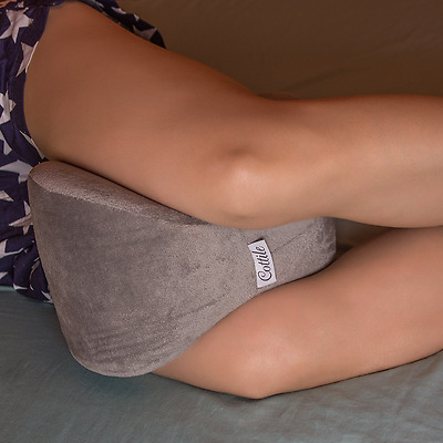 Memory Foam Leg And Knee Pillow Ergonomical Design Wedge And Bed Positioners