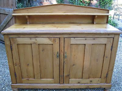 ANTIQUE PINE CHIFFONIER / DRESSER  / SIDEBOARD. Delivery poss. ALSO CHURCH PEWS.