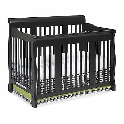 Storkcraft Tuscany 4 in 1 Convertible Crib Black
