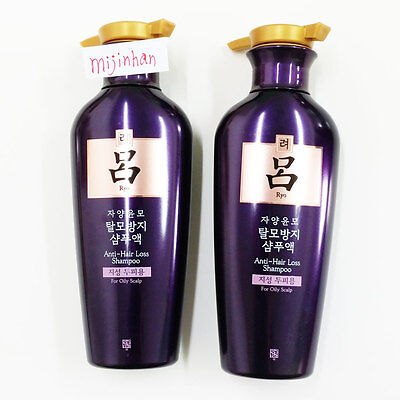 Amore Ryo Ryoe shampoo Jayangyunmo Anti hair loss 400ml For Oily hair Type Korea