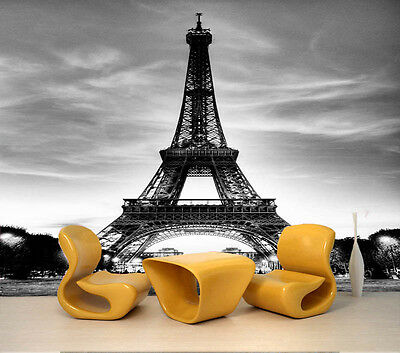 Fresh Eiffel Tower 3D Full Wall Mural Photo Wallpaper Printing Home Kids Decor