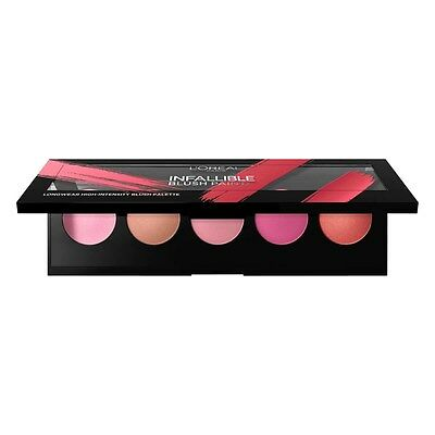 L'Oreal Paris Infallible Blush Paint Palette The Pinks