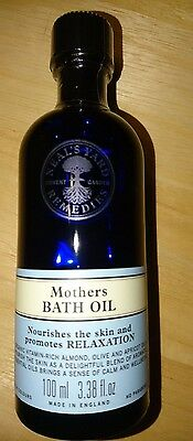 Neals Neal's Yard Mother's Bath Oil 100ml New and Sealed BBE 09/17 RRP £15