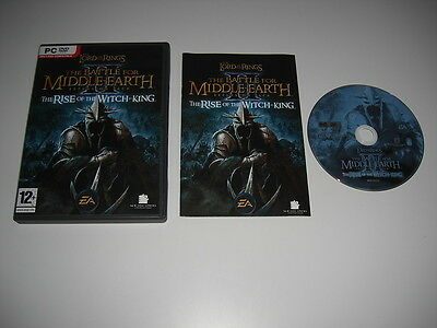 Lord Of The Rings The Battle For Middle Earth 2 II THE RISE OF THE WITCH-KING Pc
