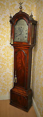 Superb George Newman London Mahogany Longcase C1750 Grandfather Clock