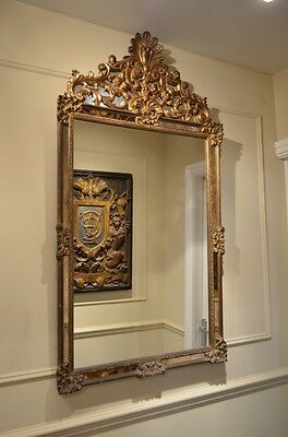 Beautiful decorative Venetian Style Wall Hanging Mirror with carved gilded frame