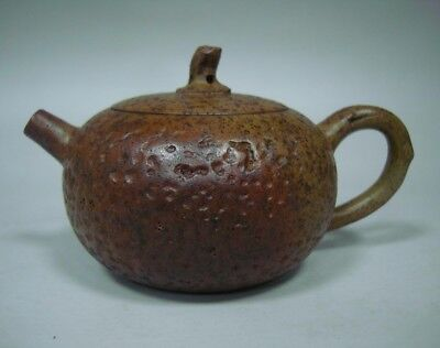 Exquisite Rare Old Chinese Handmade ZiSha Pottery Teapot Marks