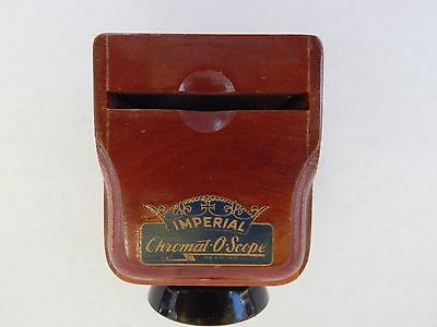 Vintage - Imperial Chromat-O-Scope - Slide Viewer - 35Mm, Made Of Wood