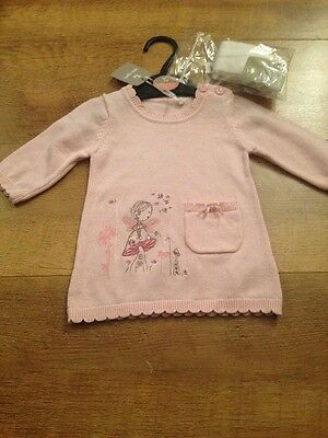 Baby Girl Dress With Tights