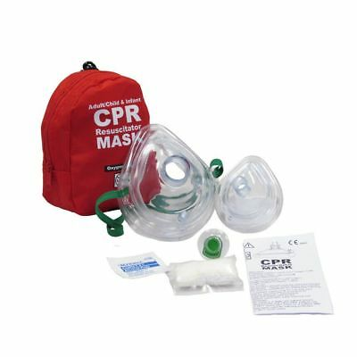 1 WNL CPR mask Soft case w/Gloves  Adult Child and Seperate Mask for Infants