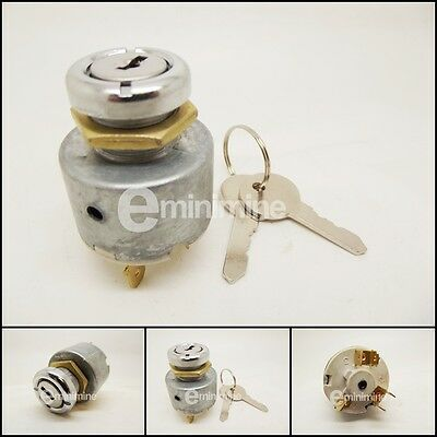 Classic Mini Ignition Switch Lock And Keys Dash Mounted 13H337 24G1345 barrel