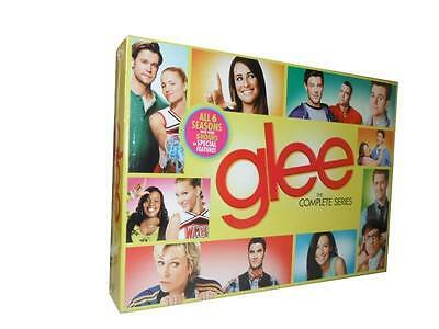 Glee: The Complete Series Seasons 1-6 (DVD, 2015, 34-Disc Set) 1 2 3 4 5 6