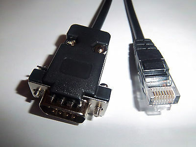 New Rs232 - Rj45 To Db 9 Pin Dsub Cable - For Serial Medical Xray Device
