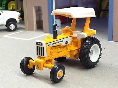 1/64 Ertl Agco Minneapolis Moline G 750 Diesel Tractor W/ Canopy