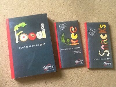 BRAND NEW Slimming World 2017 Food Directory, Free Branded Foods & Snack Book